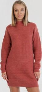 Pomarańczowa bluzka born2be z długim rękawem