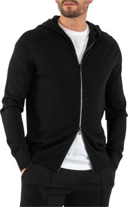 Czarna bluza Emporio Armani z dżerseju