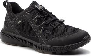 Buty trekkingowe Ecco sznurowane w sportowym stylu