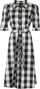 Sukienka Poza midi w stylu casual koszulowa