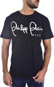 T-shirt Philipp Plein w młodzieżowym stylu z bawełny