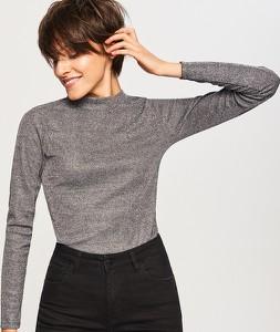 Sweter Reserved z golfem w stylu casual
