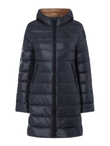 Granatowy płaszcz Blauer Usa