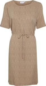 Sukienka Saint Tropez z okrągłym dekoltem w stylu casual z krótkim rękawem