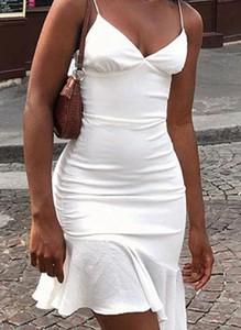 Sukienka Arilook na ramiączkach z dekoltem w kształcie litery v mini