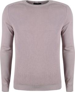 Fioletowy sweter Antony Morato z tkaniny w stylu casual