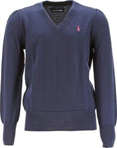 Granatowy sweter Ralph Lauren