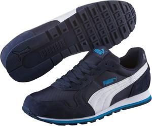 Niebieskie buty sportowe Puma