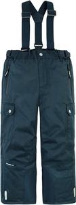 Granatowe spodnie dziecięce Cool Club dla chłopców