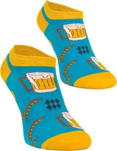 Niebieskie skarpetki Sporty Socks
