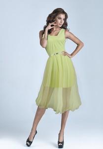 Zielona sukienka Marselini midi