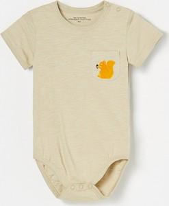 Zielone body niemowlęce Reserved dla dziewczynek