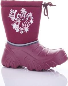 Buty dziecięce zimowe Lemigo sznurowane