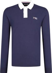 Koszulka polo Tommy Jeans z długim rękawem