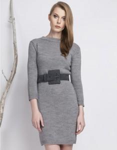 Sukienka BIENKOVSKA w stylu casual mini z długim rękawem