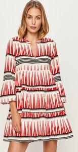 Sukienka Only mini z tkaniny