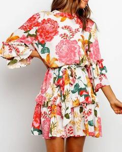 Sukienka Kendallme z okrągłym dekoltem mini