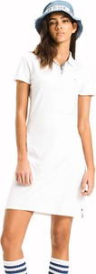 Sukienka Tommy Jeans z krótkim rękawem w młodzieżowym stylu mini