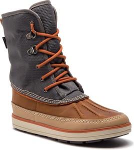 Buty dziecięce zimowe Clarks z zamszu