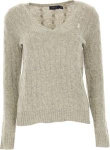 Sweter Ralph Lauren z kaszmiru w stylu casual