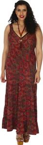 Sukienka Aller Simplement z dekoltem w kształcie litery v bez rękawów