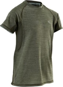 Zielona koszulka dziecięca Domyos