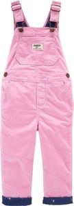 Różowe spodnie dziecięce OshKosh