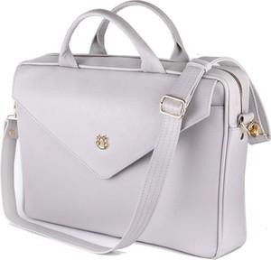 0c9333d23d313 torebka biało granatowa - stylowo i modnie z Allani