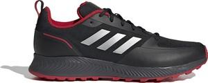 Czarne buty sportowe Adidas sznurowane falcon
