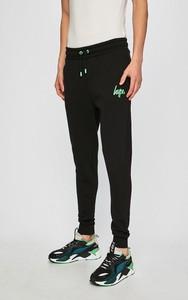 Czarne spodnie sportowe Hype