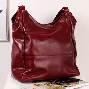 5f690fb658b7a torebka bordowa lakierowana - stylowo i modnie z Allani