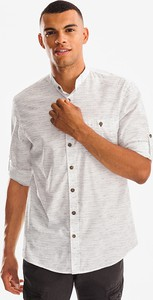 Koszula CANDA z bawełny z długim rękawem