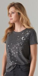 T-shirt Mohito z krótkim rękawem z okrągłym dekoltem z nadrukiem