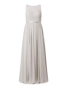Sukienka Laona z satyny bez rękawów