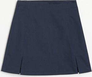 Granatowa spódnica Reserved w stylu casual