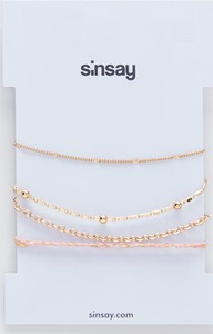 Sinsay - Bransoletki - Złoty