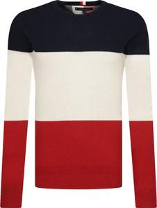 Sweter Tommy Hilfiger z wełny w stylu casual