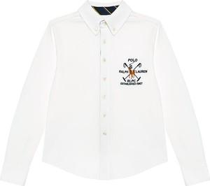 Bluzka dziecięca POLO RALPH LAUREN z jeansu dla chłopców