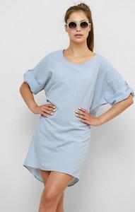 Niebieska sukienka Freeshion