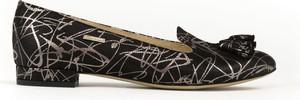Baleriny Zapato w stylu casual ze skóry z płaską podeszwą