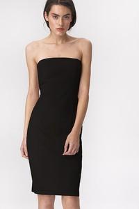 Czarna sukienka Nife bez rękawów