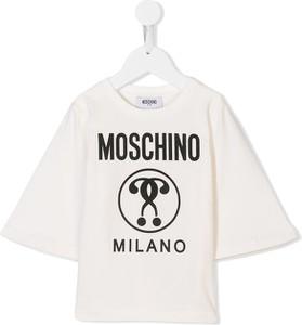 Koszulka dziecięca Moschino Kids z bawełny