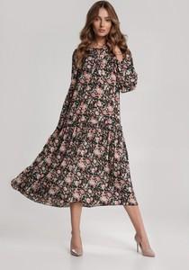 Sukienka Renee midi w stylu boho
