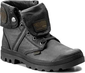 Szare buty zimowe palladium