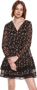 Sukienka Top Secret koszulowa w stylu casual z długim rękawem