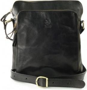 Czarna torba vera pelle