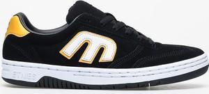 Czarne buty sportowe ETNIES ze skóry