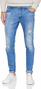 Niebieskie jeansy amazon.de w stylu casual