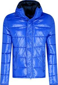 Niebieska kurtka Invicta krótka