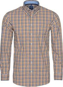 Koszula Redmond z długim rękawem z kołnierzykiem button down z bawełny